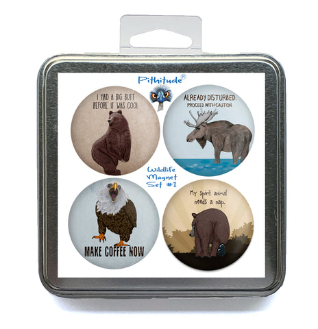 Wildlife Magnet Set #1