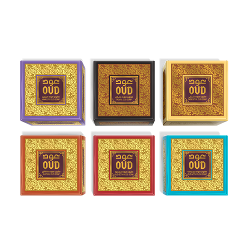 6 Scents Oud Soap Bars (125g) Collection by Oudlux