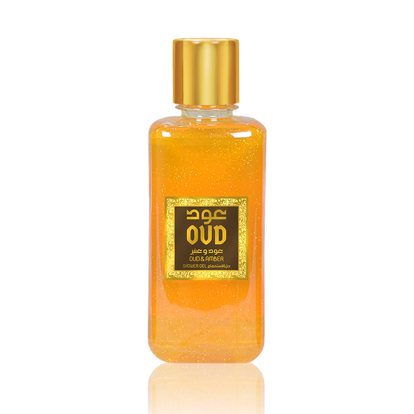 Amber with Oud Shower Gel 10oz 300ml
