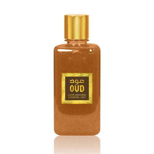 Gold Oud Shower Gel 300ml by Oudlux