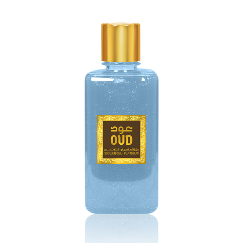 Platinum Oud Shower Gel 500ml by Oudlux