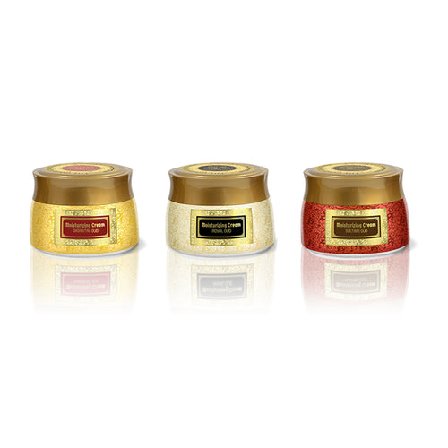 3X140ml Oud Moisturizing Cream Collection by Oudlux