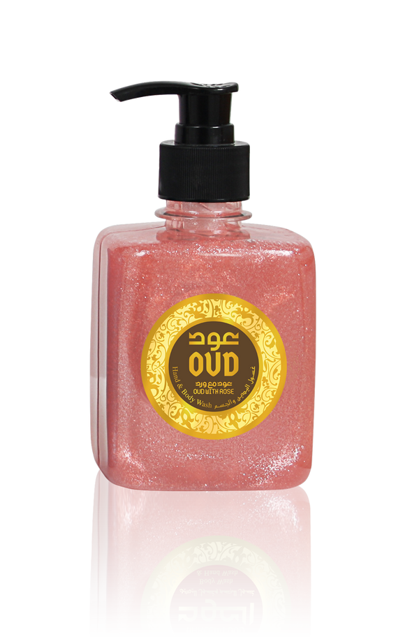 Rose with Oud Liquid Soap 10oz 300ml