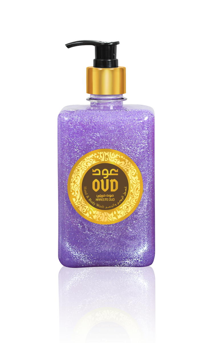 Hareemi Oud Liquid Soap 500ml by Oudlux