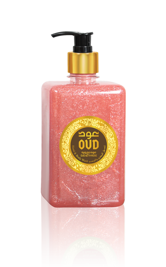 Rose with Oud Liquid Soap 17oz 500ml