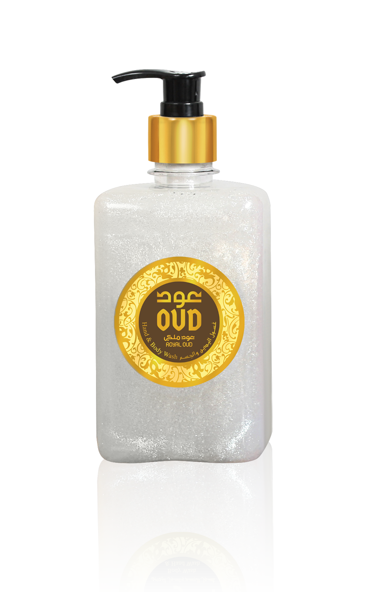 Royal Oud Liquid Soap 500ml by Oudlux