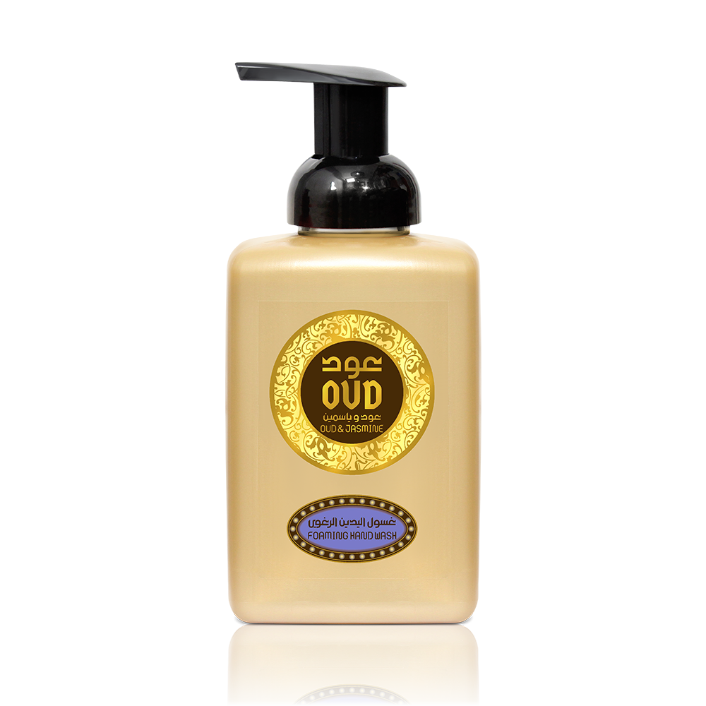 Oud & Jasmine Foaming Hand Wash Soap 500ml by Oudlux