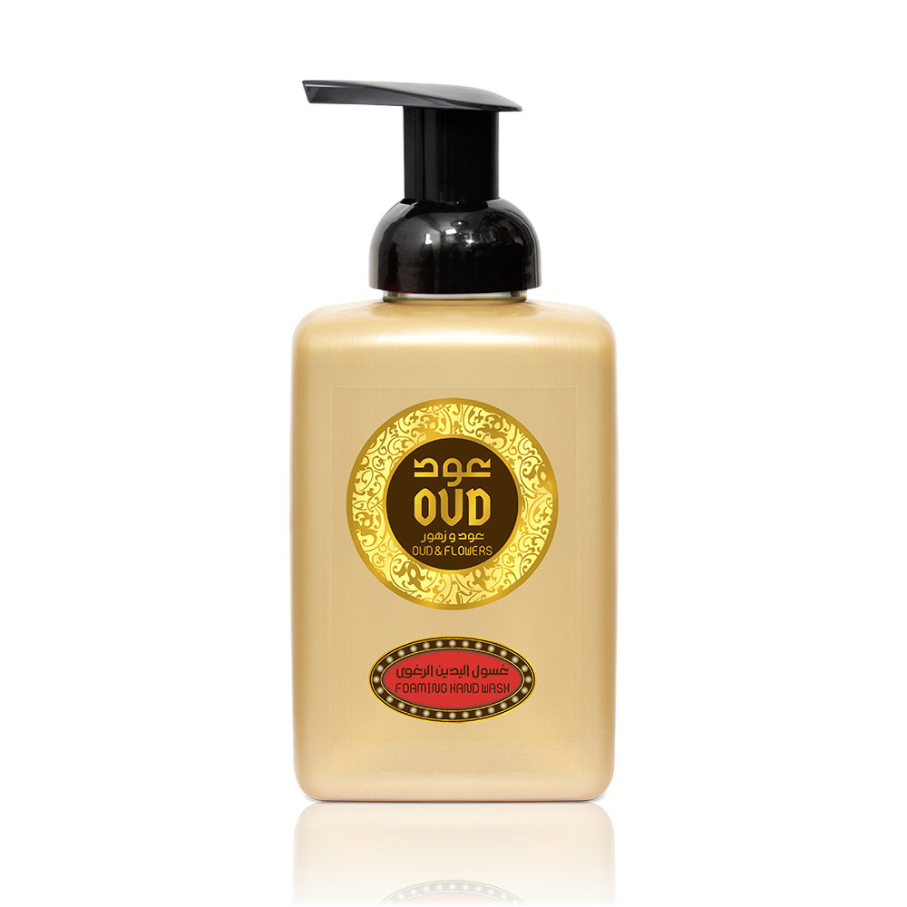 Oud & Flowers Foaming Hand Wash Soap 500ml by Oudlux