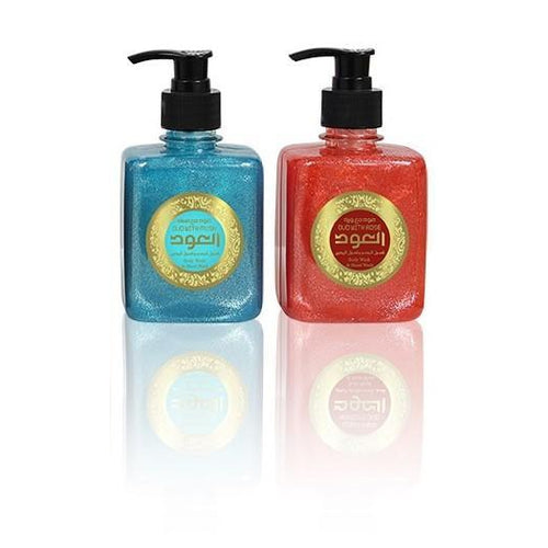 Oudlux Both Rose and Musk Liquid Soap 10oz 300ml-OudLux