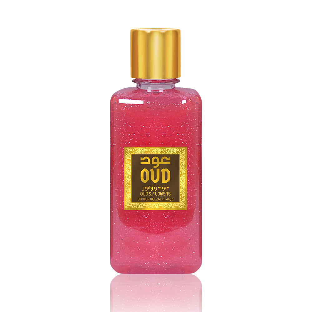 Oudlux Shower Gel 10oz 300ml Flowers-OudLux