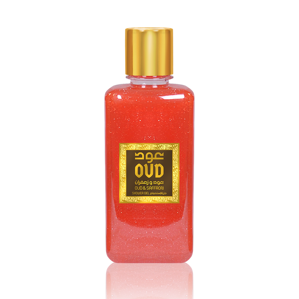 Oudlux Shower Gel 10oz 300ml Saffron-OudLux