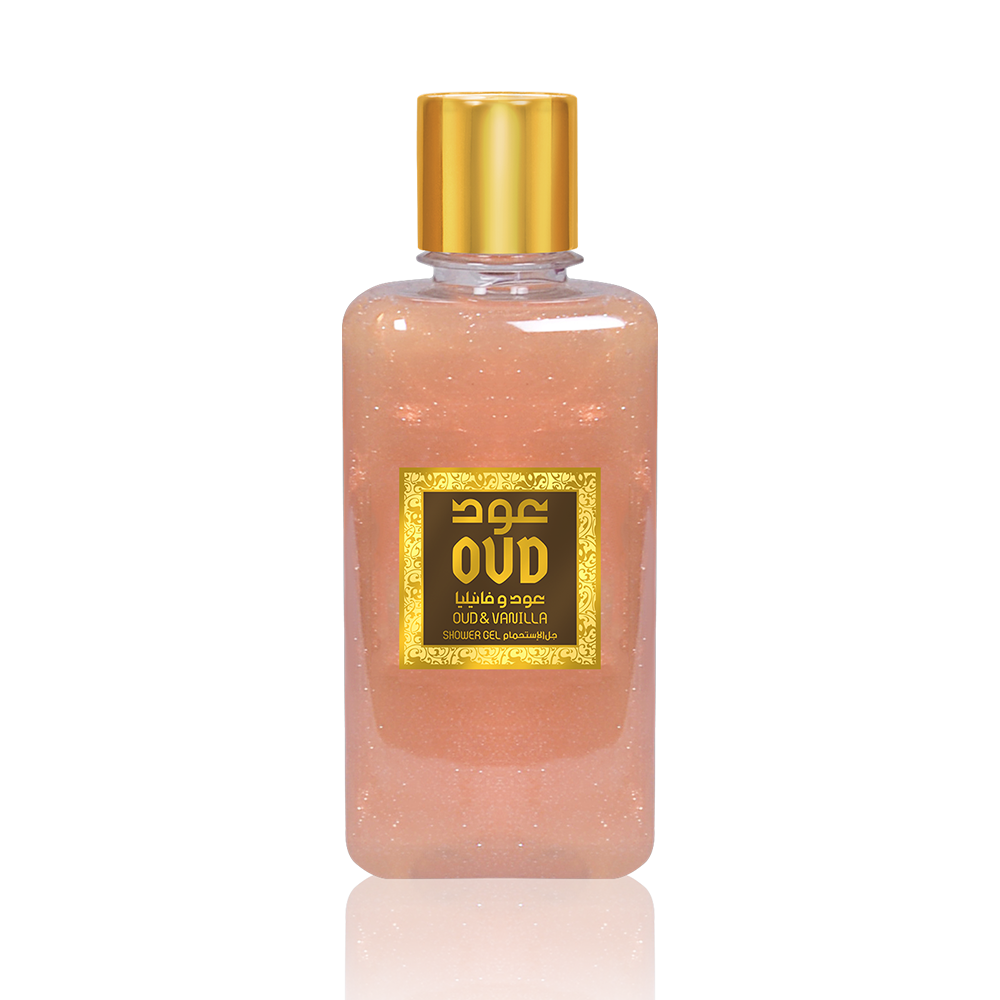 Oudlux Shower Gel 10oz 300ml Vanilla-OudLux