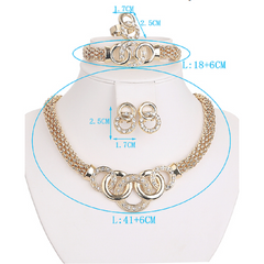 Beautiful Rings Collar Statement Necklace Earrings Bracelet Ring -  New Fashion Finds By Carole