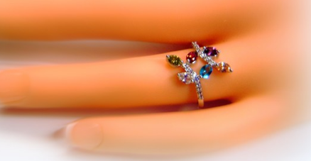 Delicate Spring Fairy Princess Ring -  New Fashion Finds By Carole