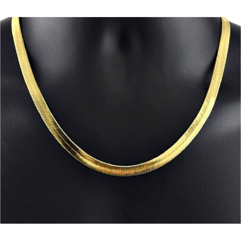 14k Gold Filled Herringbone Chain 20
