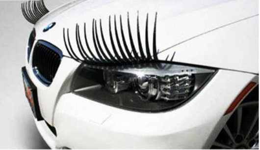 Give your automobile a pair of very personalized & charming eyes. -  New Fashion Finds By Carole