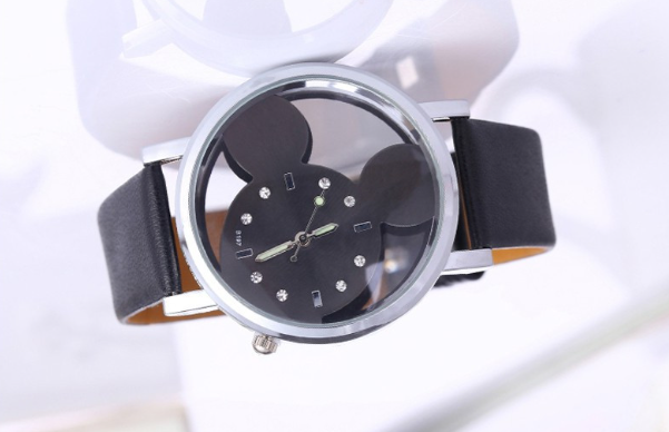 style casual watches watch band goods quality fashionable s dial item leather imported wristwatches ladies genuine diamond european europe original high guou new fashion women large