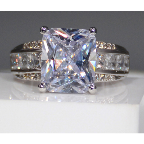 Amazing 6 CT CZ Promise Engagement Wedding Ring -  New Fashion Finds By Carole