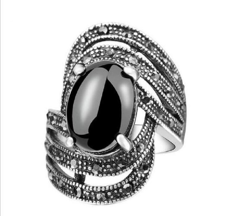 Turkish Retro High End Crystal Rings -  New Fashion Finds By Carole