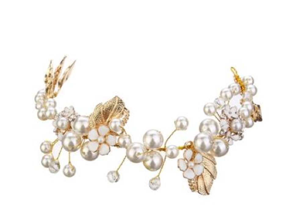 Bridal Hairpiece (sold as pair) -  New Fashion Finds By Carole