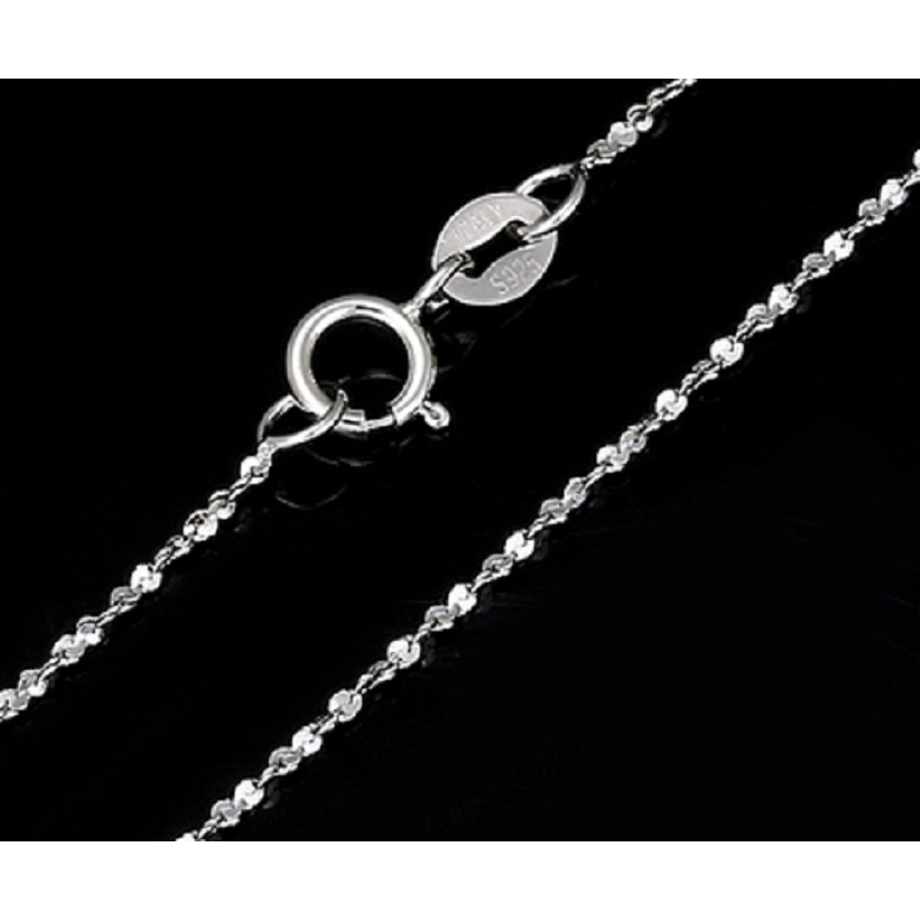 "925 Sterling Silver 22"" Starry Chain Stamped 925 -  New Fashion Finds By Carole"