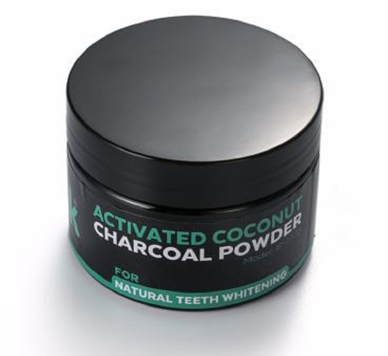 Tooth Whitening Powder Activated Coconut Charcoal Natural Teeth Whitening Charcoal Powder Tartar Stain Removal -  New Fashion Finds By Carole