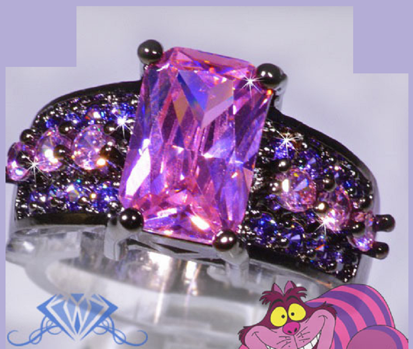 Cheshire Cat ring -  New Fashion Finds By Carole