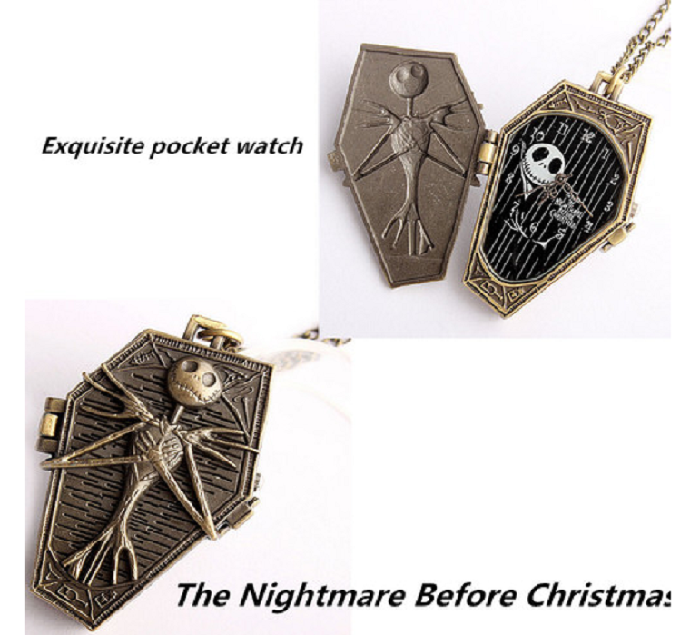 Great Gift for Christmas Hot Sale Burton's Nightmare Before Christmas Necklace -  New Fashion Finds By Carole