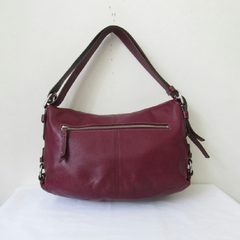 Coach Z23987 Burgundy Patent Leather Crossbody Bag -  New Fashion Finds By Carole