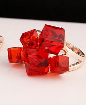 Unique Cube Ring -  New Fashion Finds By Carole