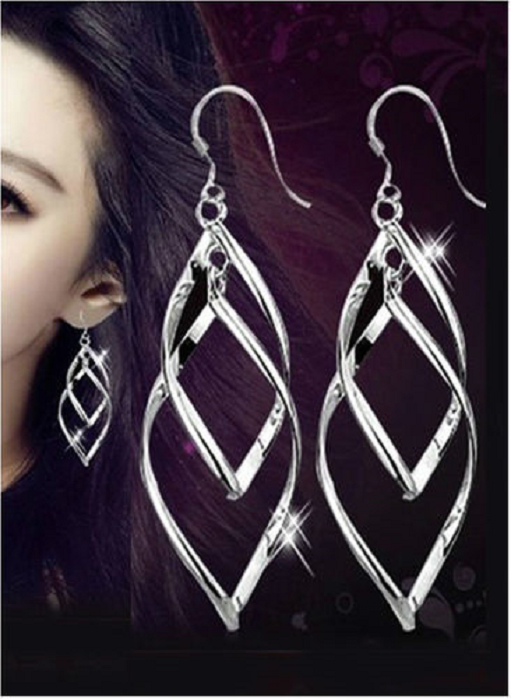 Dangle earrings with extra waves! -  New Fashion Finds By Carole