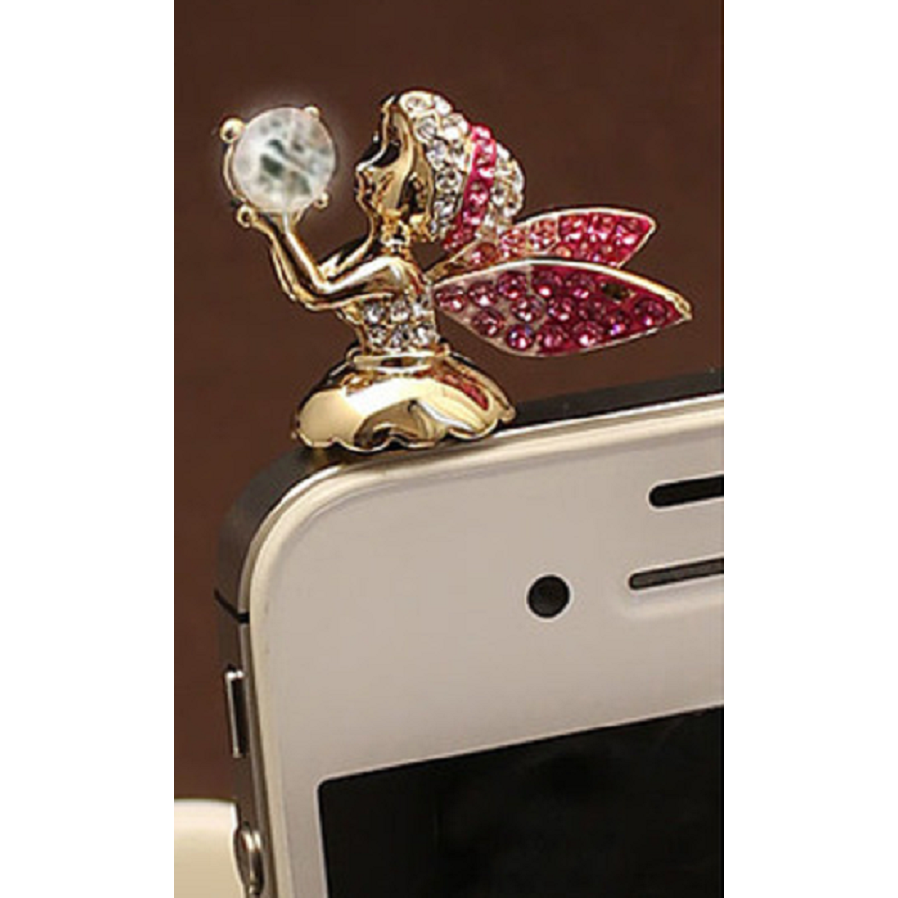 Adorable Little Angel Anti Dust Plug Cover Charm for phone -  New Fashion Finds By Carole