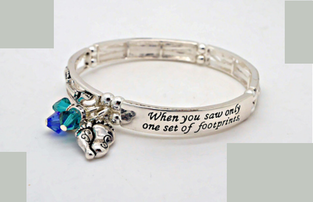 Footprints in the Sand Bracelet -  New Fashion Finds By Carole