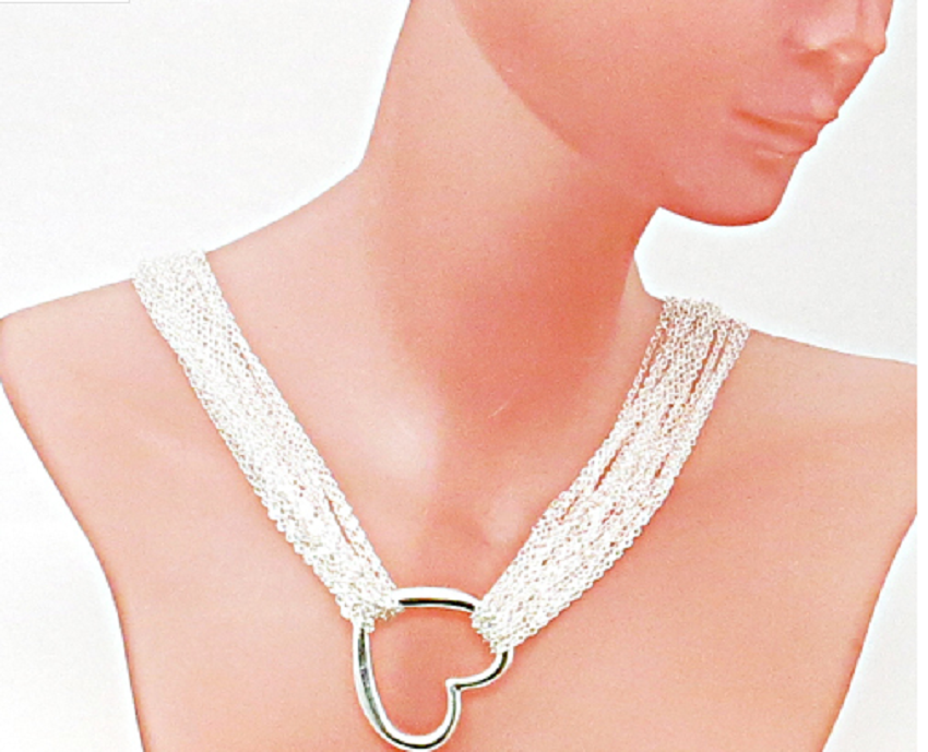 Classic Heart Choker -  New Fashion Finds By Carole