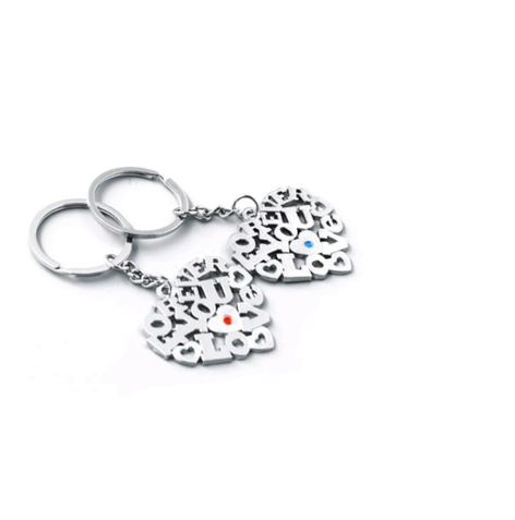 His and her love keychains -  New Fashion Finds By Carole