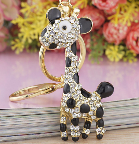 Tall Giraffe 3-D Keychain -  New Fashion Finds By Carole