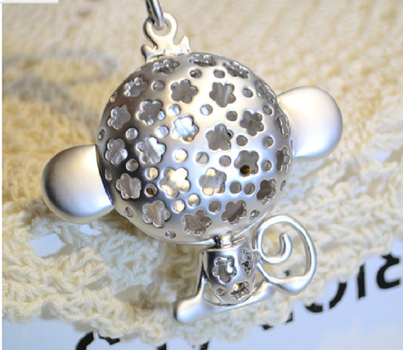 Whimsical Monkey Keychain -  New Fashion Finds By Carole