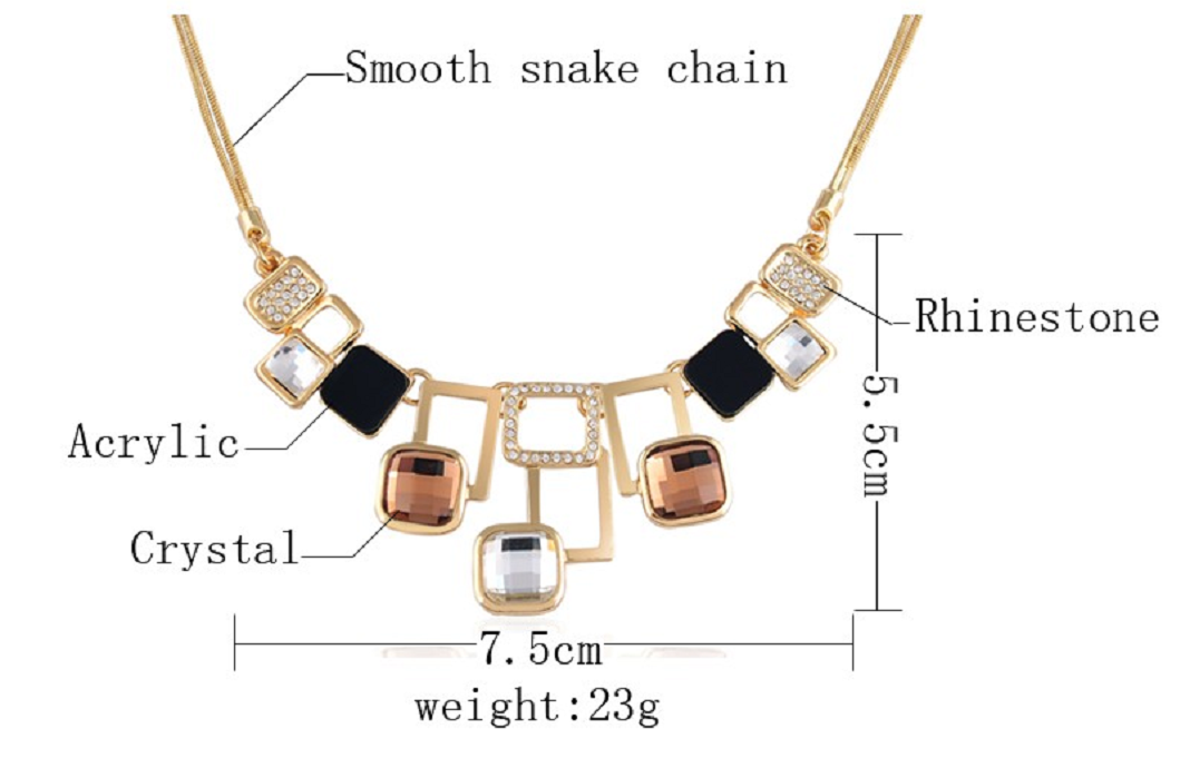 Geometric 4 Piece Jewelry Set -  New Fashion Finds By Carole