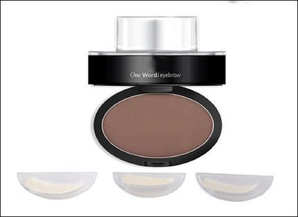 3 In 1 Beauty 3 Types Makeup Cosmetic Brow Stamp Eyebrow Powder Long-Lasting Waterproof -  New Fashion Finds By Carole