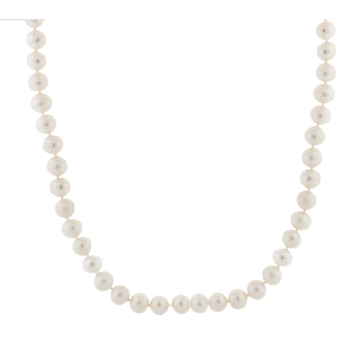 "32"" 7-8MM Freshwater Pearl Endless Necklace -  New Fashion Finds By Carole"