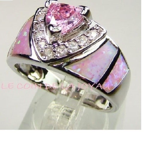 Brilliant Trillion Cut Pink Crystal -  New Fashion Finds By Carole