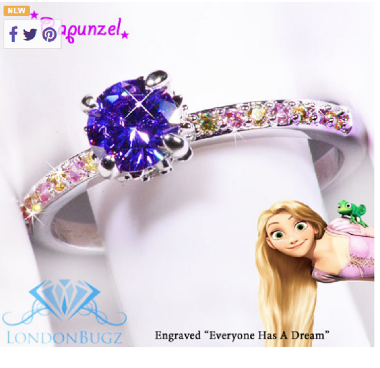 "Rapunzel ""Everyone Has A Dream"" (size 10) -  New Fashion Finds By Carole"
