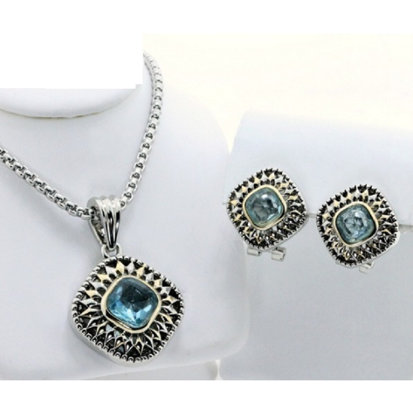new earrings sets polish free necklace end collections sterling fashion layered products gold sapphire jewelry and topaz high blue lead silver set jewellery