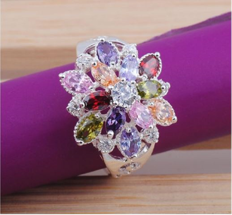 Spring bouquet ring~ -  New Fashion Finds By Carole