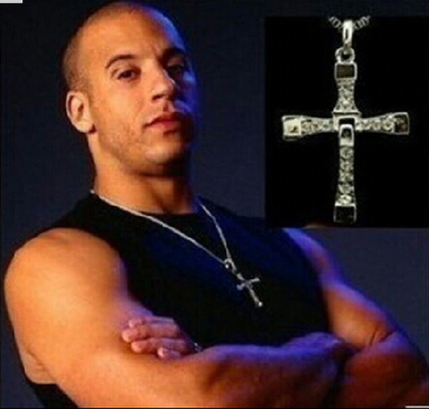 Fast and Furious Dominic Toretto Cross -  New Fashion Finds By Carole