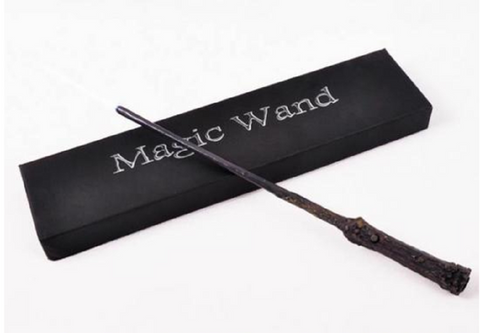 Harry Potter Glowing Magic Wand -  New Fashion Finds By Carole
