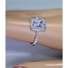 5AAAAA level Italian Genuine Zirconia luxury classic Ring -  New Fashion Finds By Carole