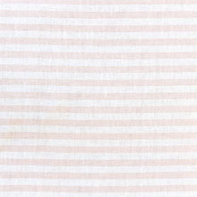 Perfect Stripe By The Yard in Pale Blush