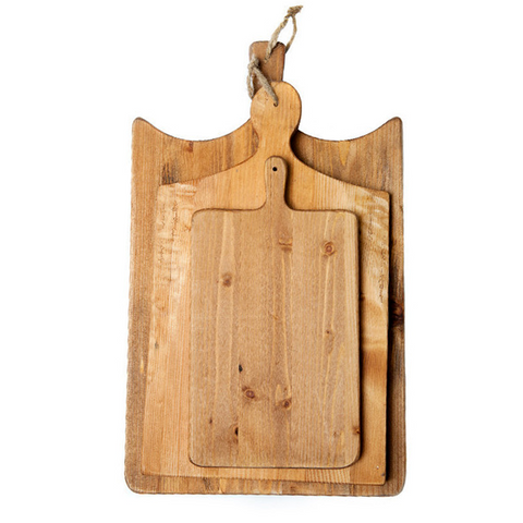 French Cutting Boards, Set of 3