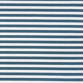 Perfect Stripe By The Yard in Indigo